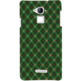 ifasho Pattern green red and black flower design Back Case Cover for Coolpad Note 3