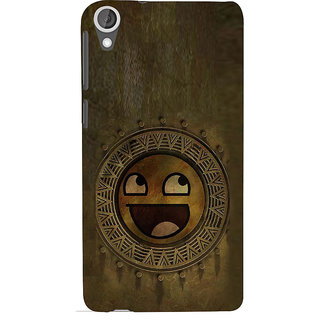 ifasho Smilee on wood Back Case Cover for HTC Desire 820