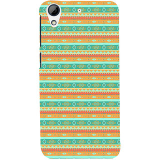 ifasho Animated Pattern colrful 3Daditional design Back Case Cover for HTC Desire 626