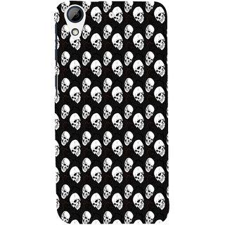 ifasho Modern  Design skeleton Pattern Back Case Cover for HTC Desire 728