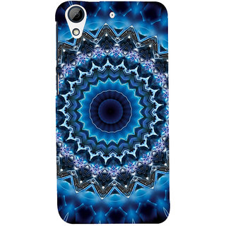 ifasho Animated Pattern design colorful flower in royal style Back Case Cover for HTC Desire 626