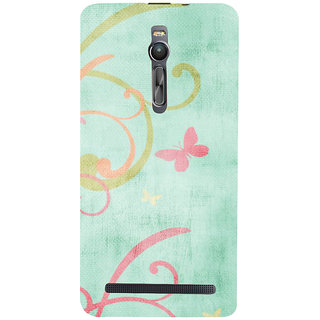 ifasho Animated Pattern colrful 3Daditional design cloth pattern Back Case Cover for Asus Zenfone2