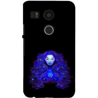 ifasho zodiac sign virgo Back Case Cover for Google Nexus 5X
