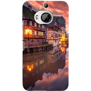 ifasho Venice City Back Case Cover for HTC ONE M9 Plus