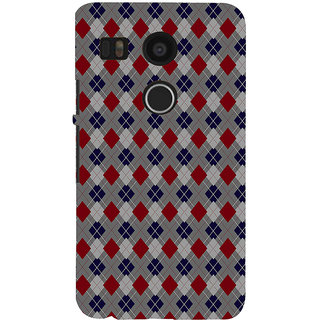 ifasho Animated Pattern design colorful in royal style Back Case Cover for Google Nexus 5X