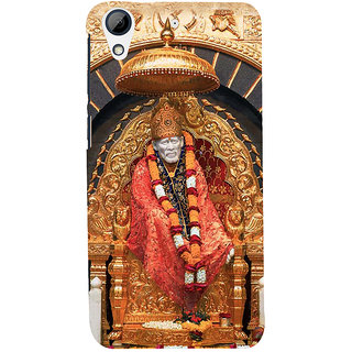 ifasho Shirdi Sai Baba Back Case Cover for HTC Desire 728
