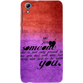 ifasho Love Quote Back Case Cover for HTC Desire 828
