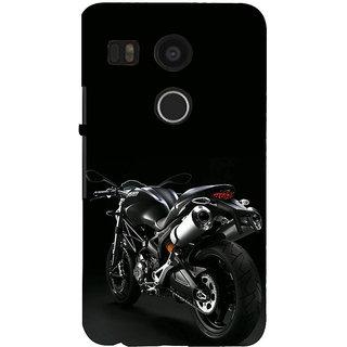 ifasho Sports Bike  Back Case Cover for Google Nexus 5X