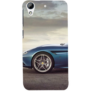 ifasho Stylish long Car wheel Back Case Cover for HTC Desire 626