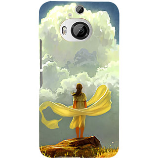 ifasho Girl waiting art work painting Back Case Cover for HTC ONE M9 Plus