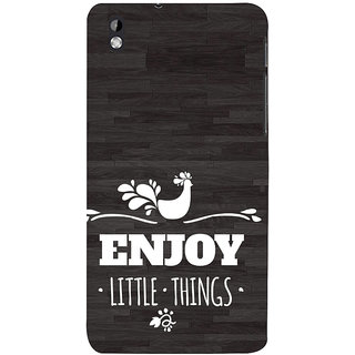 ifasho enjoy little things Back Case Cover for HTC Desire 816