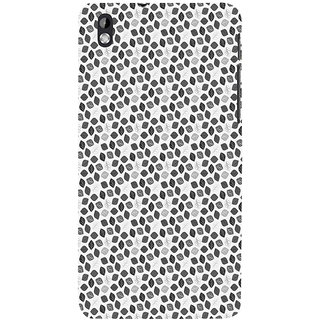 ifasho Animated Pattern colrful design flower with leaves Back Case Cover for HTC Desire 816