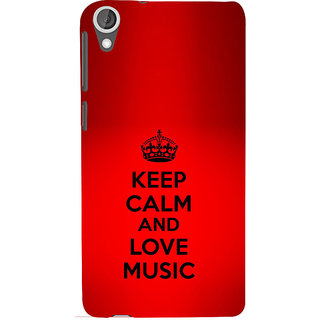 ifasho Nice Quote On Keep Calm Back Case Cover for HTC Desire 820