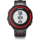 Garmin Forerunner Enabled Fitness Watch With Heart Rate Monitor (Red & Black)