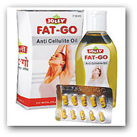 Jolly FAT-GO Slim Oil  ( 110 ML ) & Fat Go Slim Capsules ( 60 Capsules)