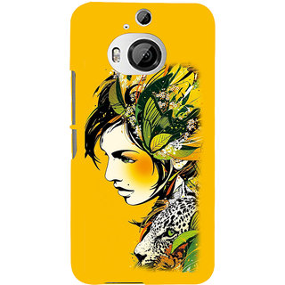 ifasho Jungle girl Back Case Cover for HTC ONE M9 Plus