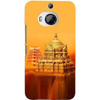 ifasho Tirupati Balaji Temple Back Case Cover for HTC ONE M9 Plus