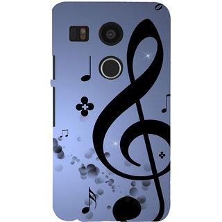 ifasho Modern Art Design Pattern Music symbol Back Case Cover for Google Nexus 5X