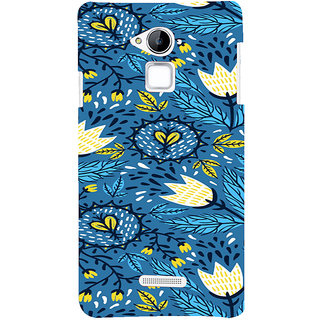 ifasho Animated Pattern colrful design flower with leaves Back Case Cover for Coolpad Note 3
