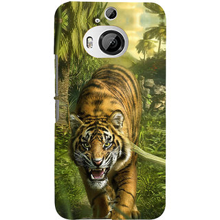 ifasho Angry Tiger  Back Case Cover for HTC ONE M9 Plus