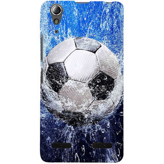 ifasho Foot ball Back Case Cover for Lenovo A6000 Plus