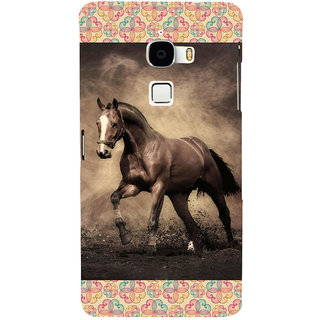 ifasho Brown Horse Back Case Cover for Le TV Max