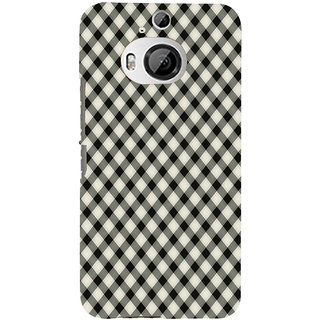 ifasho Animated Pattern of Chevron Arrows royal style Back Case Cover for HTC ONE M9 Plus