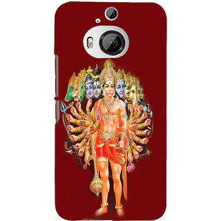 ifasho Lord Hanuman Back Case Cover for HTC ONE M9 Plus