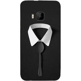 ifasho Gentle man with spoon Back Case Cover for HTC One M9