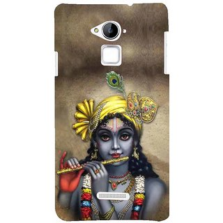 ifasho Lord Krishna with Flute Back Case Cover for Coolpad Note 3