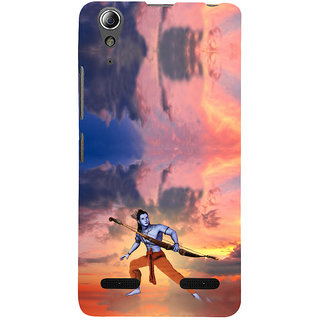 ifasho Lord Rama Back Case Cover for Lenovo A6000 Plus