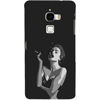 ifasho Smoking girl Back Case Cover for Le TV Max