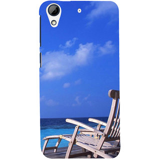 ifasho Beach  Back Case Cover for HTC Desire 626