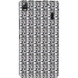 ifasho Animation Clourful Circle Pattern Back Case Cover for Lenovo A7000