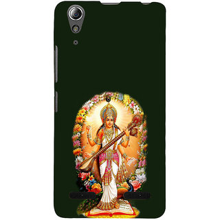 ifasho Goddess Saraswati  Back Case Cover for Lenovo A6000 Plus