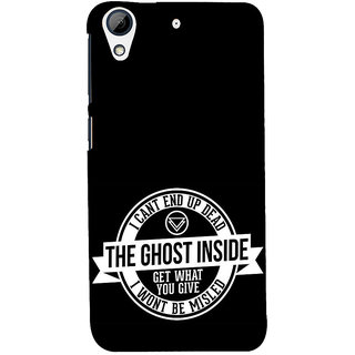 ifasho Think Out of Box Back Case Cover for HTC Desire 728