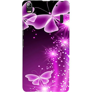ifasho Butterfly Back Case Cover for Lenovo A7000