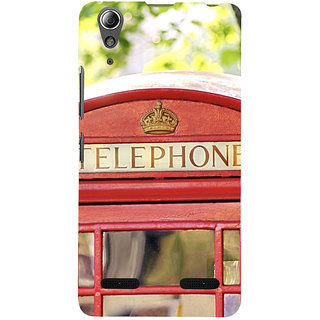 ifasho Telephone booth  Back Case Cover for Lenovo A6000