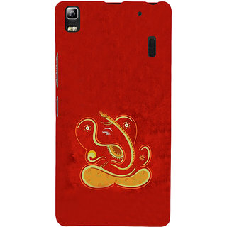ifasho Modern Art Ganesh Back Case Cover for Lenovo A7000