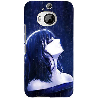 ifasho Girl in rain Back Case Cover for HTC ONE M9 Plus