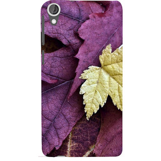 ifasho Fallen Leaf Back Case Cover for HTC Desire 820