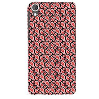 ifasho Modern Art Design animated cloth Pattern of flower Back Case Cover for HTC Desire 820