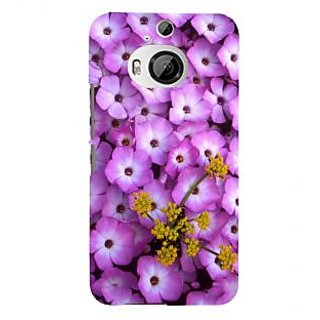 ifasho Pattern colorful flower Back Case Cover for HTC ONE M9 Plus
