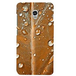 ifasho water Drop on brown leaf Back Case Cover for Lenovo Vibe P1