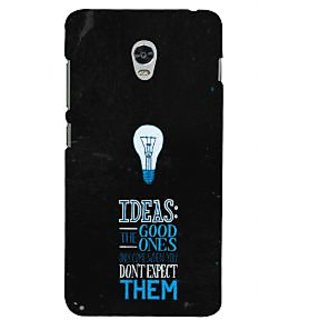 ifasho Quotes on idea Back Case Cover for Lenovo Vibe P1