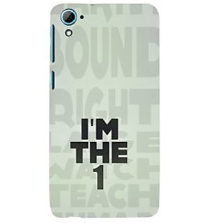 ifasho I am the one good quote on confidence Back Case Cover for HTC Desire 826