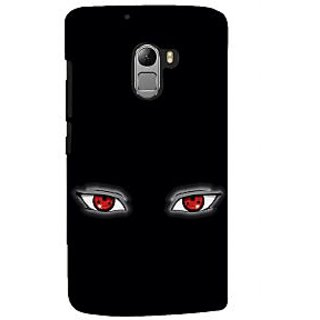 ifasho Cartoon Eyes Back Case Cover for Lenovo K4 Note