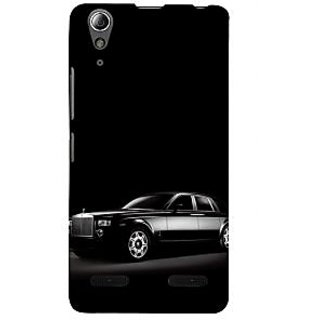 ifasho The Car Back Case Cover for Lenovo A6000 Plus