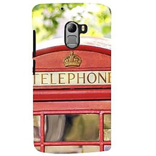 ifasho Telephone booth  Back Case Cover for Lenovo K4 Note