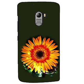 ifasho one Flowers Back Case Cover for Lenovo K4 Note